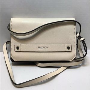 Kenneth Cole Reaction nude crossover clutch